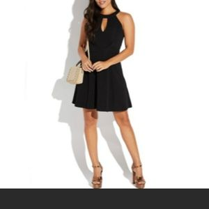 Black key hole dress from Nordstrom